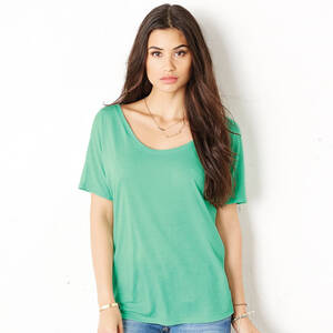 Bella Ladie's Flowy Simple T-Shirt