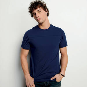 Canvas Jersey Yoke T-Shirt