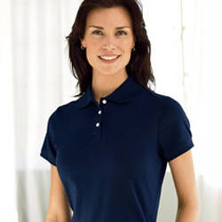 Devon & Jones Ladies' Perfect Pima Interlock Polo Shirt