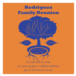 Family Reunion T-Shirt Design R1-62
