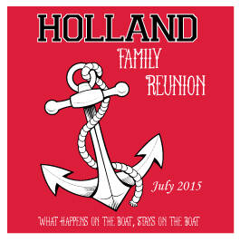 Family Reunion T-Shirt Design R2-24
