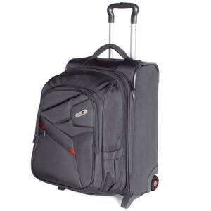 FUL 2-in-1 Luggage W/Detachable Backpack