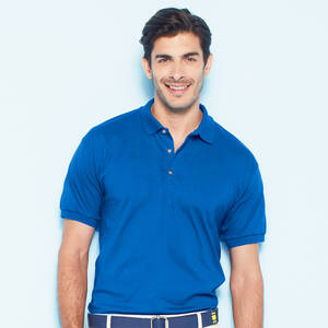 Gildan Cotton Jersey Polo Shirt