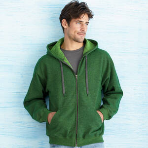 Gildan Heavy Blend Vintage Full-Zip Hooded Sweatshirt