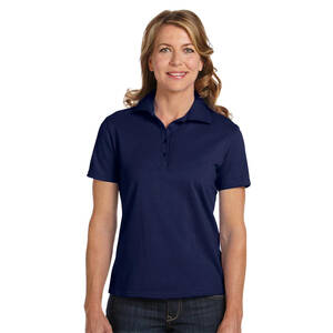 Hanes Ladies' Cotton Pique Polo Shirt