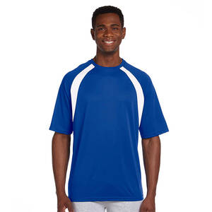 Harriton Athletic Sport Colorblock T-Shirt