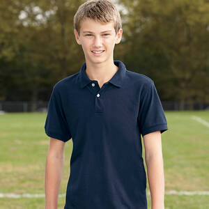 Harriton Youth Easy Blend Polo Shirt