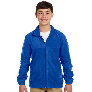 Harriton Youth Full-Zip Fleece