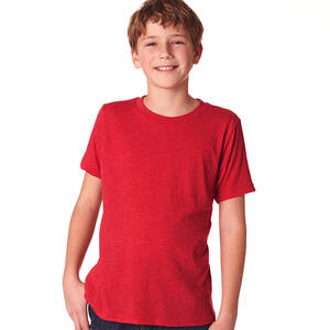 Next Level Boy's Triblend Crew Tee