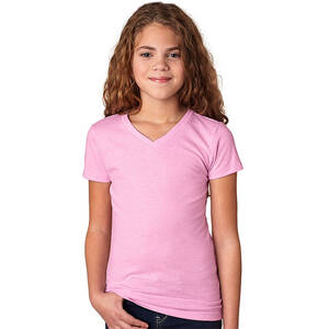 Next Level Girl's Adorable CVC V-Neck Tee