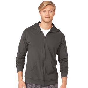 Next Level Unisex Sueded Full-Zip Hoodie