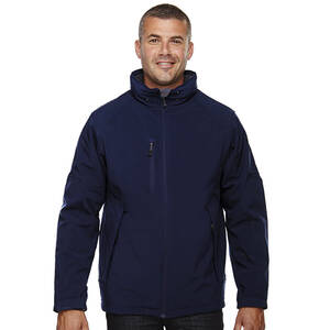 North End Glacier Men's Insulated Soft Shell Jacket With Detachable Hood
