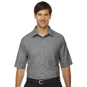 North End Maldon Men's Tall Short Sleeve Oxford Shirt