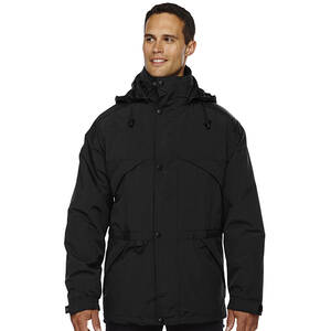 North End Men's 3-In-1 Techno Series Parka With Dobby Trim