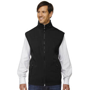 North End Men's Soft Shell Performance Vest